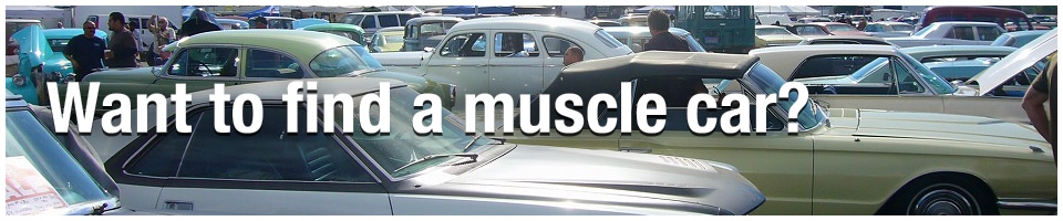 Want to find a muscle car?
